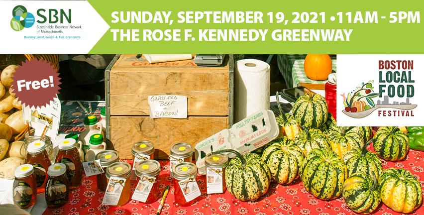 2021 11th Annual Boston Local Food Festival (Free!)