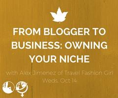 WITS on the Web: From Blogger to Business: Owning Your...
