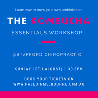 The Kombucha Essentials Brisbane Workshop