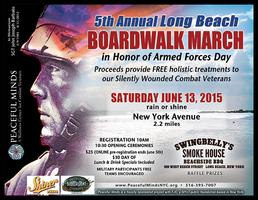 Peaceful Minds 5th Annual Long Beach Boardwalk March...