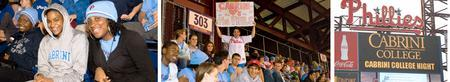 Cabrini College Night at the Phillies Alumni Happy...
