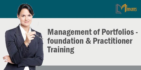 Management Of Portfolios - Foundation & Practitioner 3Days - Hamburg
