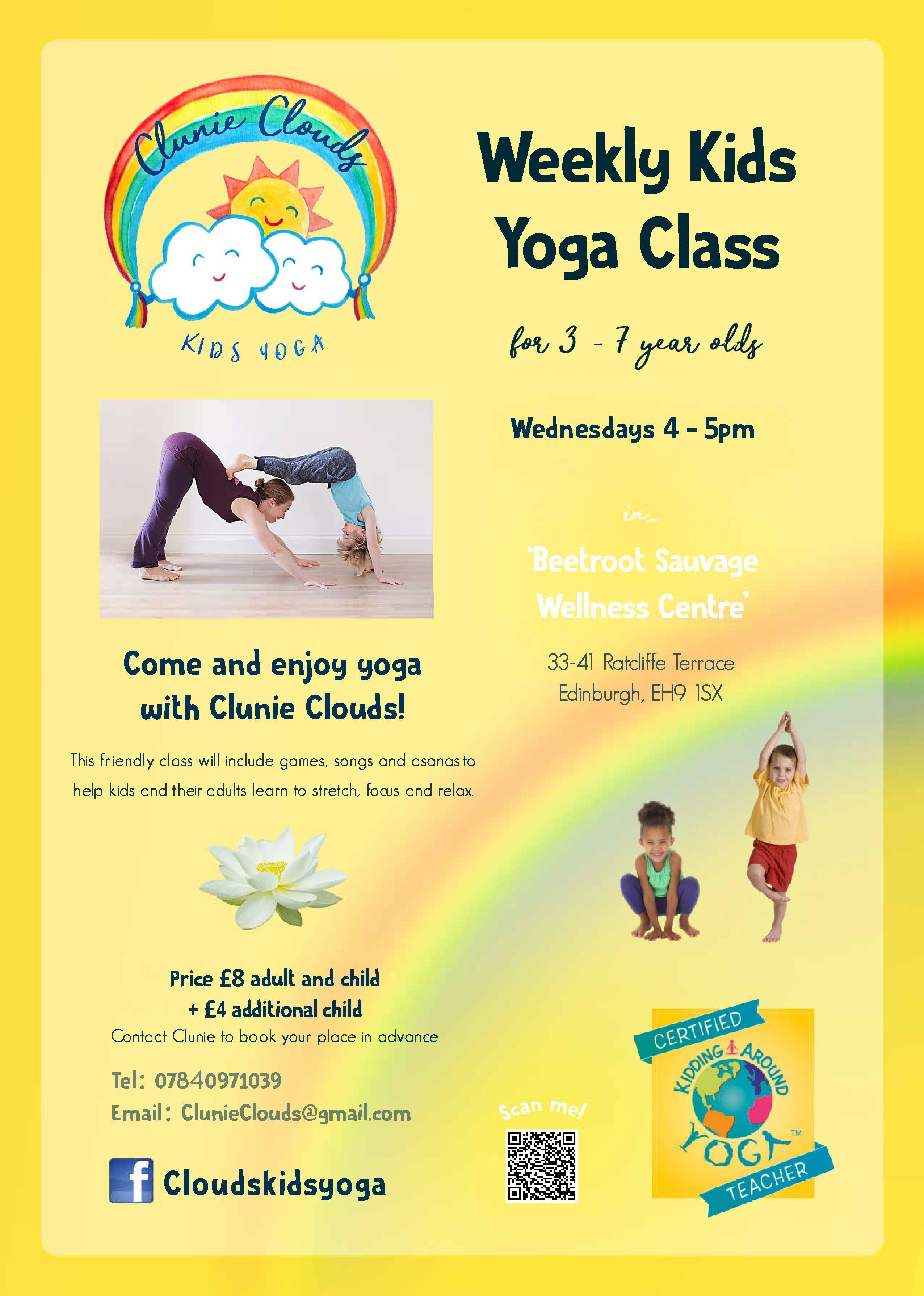 Kids yoga classes
