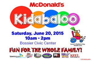 McDonald's is bringing you Kidabaloo presented by...