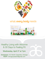 Wellness Wednesday with Arbonne's 30 Days to Fit!