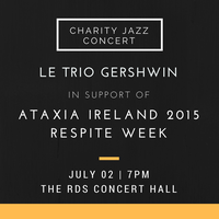 Jazz for Ataxia @ RDS Concert Hall