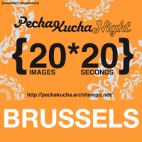 PechaKucha Night Brussels Design Sept. 2015