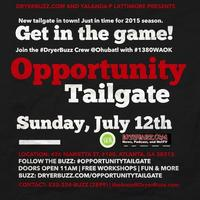 #OpportunityTailgate with DryerBuzz at OhubATL --...