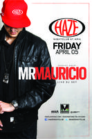 Mr Mauricio Guest DJ Set at HAZE Nightclub