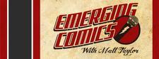 emerging comics logo