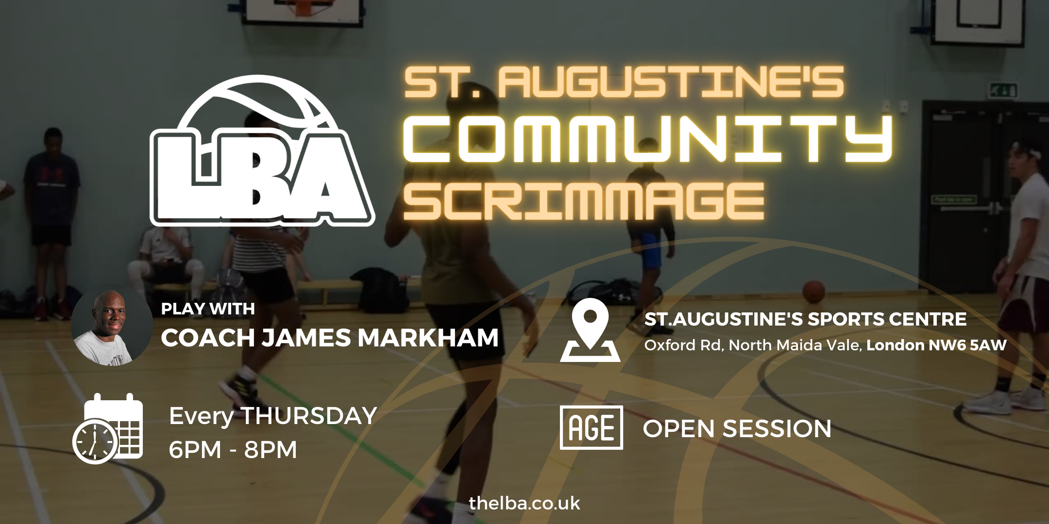 St Augustine's Community Scrimmages - Weekly Basketball