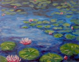 Pa'ina Paint Club - Water Lilies at Giverny