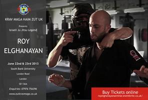 Israeli Ju Jitsu Seminar with Roy Elganayan