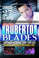 Roberto Blades EN VIVO @ Club Malibu NJ