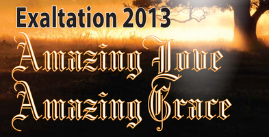 Exaltation 2013: Amazing Love, Amazing Grace
