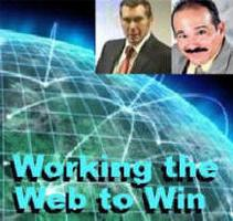 A Night of Working The Web to Win