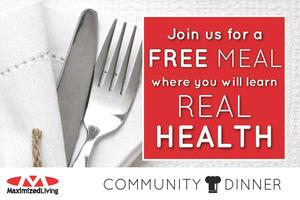 Dinner With Maximized Living