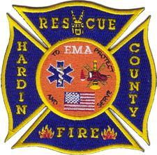 Hardin County Fire Department logo