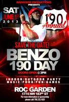 1st ANNUAL BENZO 190 DAY