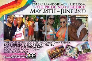 2013 Orlando Black Pride Event Passes (VIP Passes &...