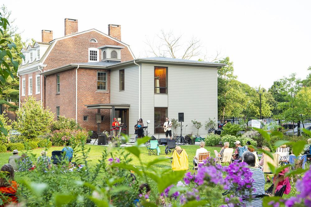 Make Music Hartford in the Butler-McCook Garden