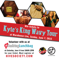 The Hive Society x Scoremore Present: KYLE's King Wavy...