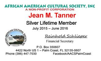 AACS Member Dues for FY 2016