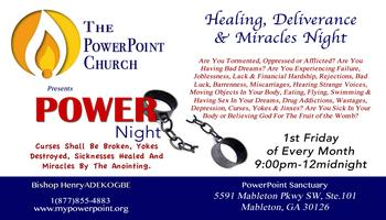 Healing, Deliverance & Miracles Power Night with...