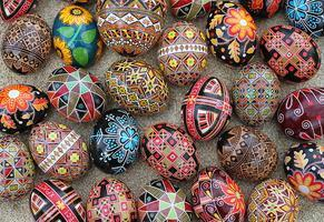 Pysanky! Ukrainian Egg Art Workshop (all levels) April...