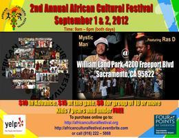 African Cultural Festival (September 1st & 2nd, 2012)