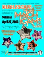 Burlesque MATCH GAME Live! Saturday, April 27, 2013