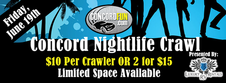 Concord Nightlife Crawl