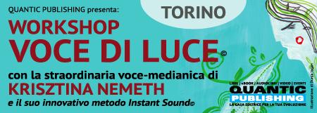 """TORINO   """"Voce di Luce"""" con la cantante..."""