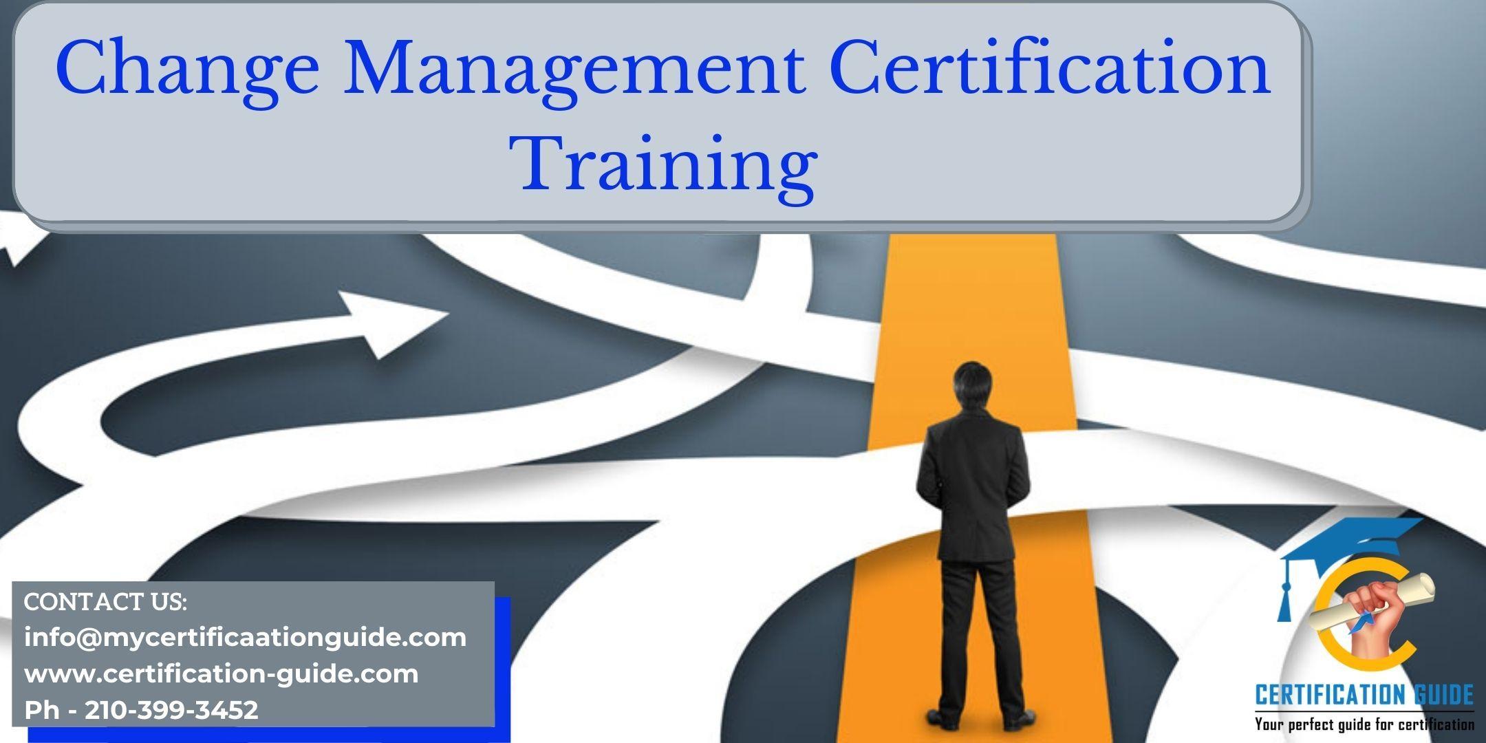 Change Management Certification Training in Regina, SK