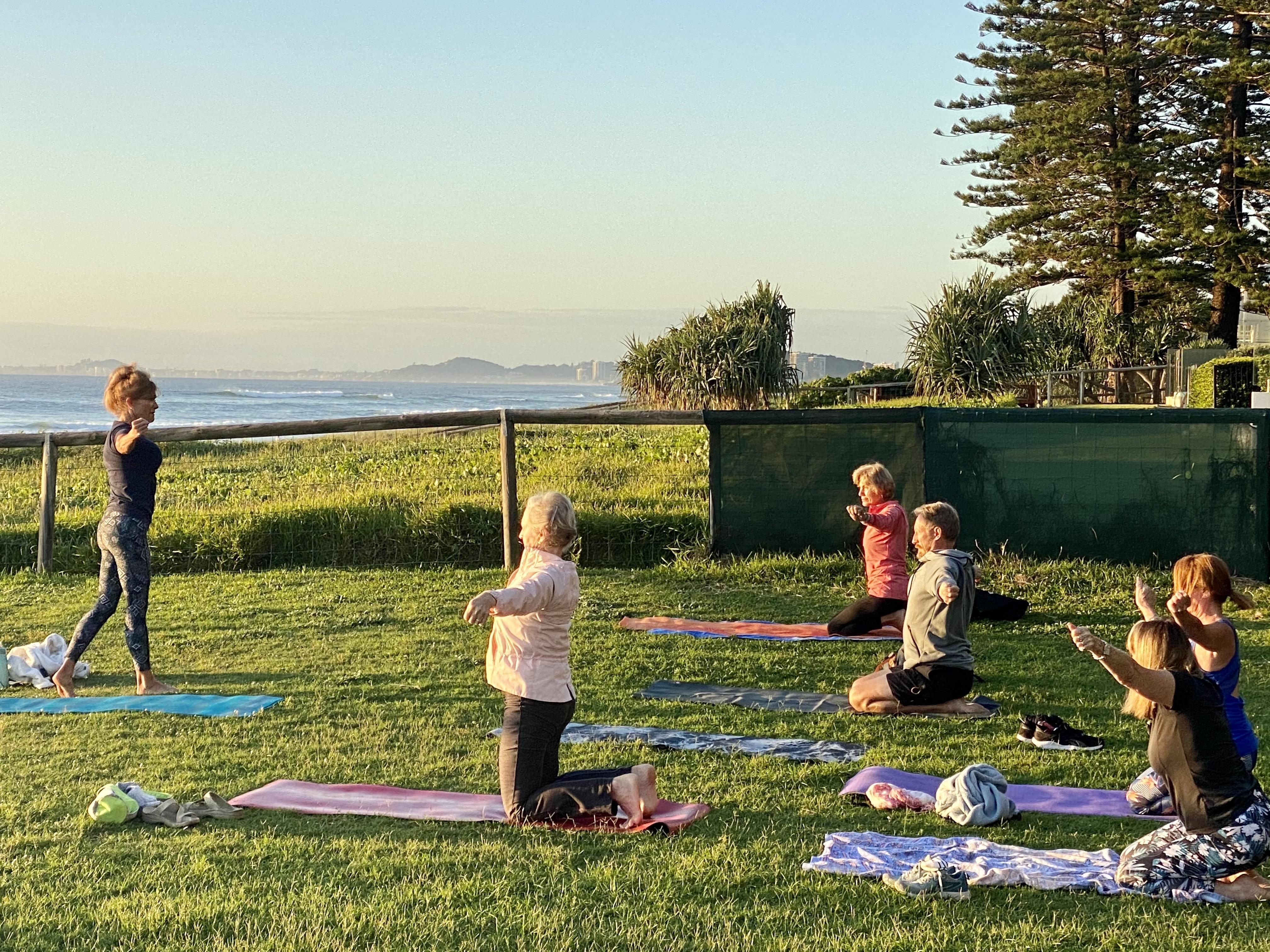 Thursday 530pm Yoga at Palm Beach Community Centre