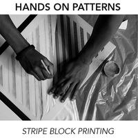 Workshop: Stripy Block Printing