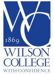 Wilson College Special Events logo