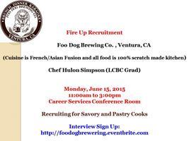 Foo Dog Brewing Co., Ventura, CA