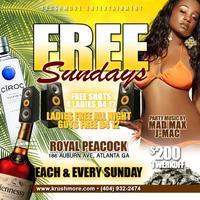 FREE SUNDAYS ($200 TWERK OFF)