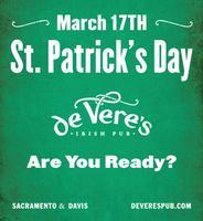 de Vere's St. Patrick's 2012 T-Shirts