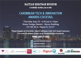 Miami Caribbean Code ™ Tech and Innovations Award...