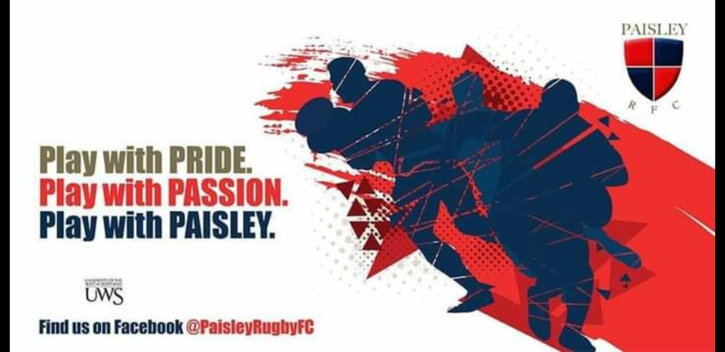 Paisley Touch Rugby Club