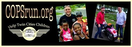 8th Annual COPSrun Mentoring Ride for MN Kids