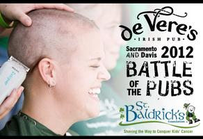 de Vere's King's Game/St. Baldrick's  2012 T-Shirt...
