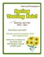 Spring Tasting Fair