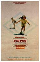 Joe Pug + Matt Burke (of HGWT) + Lauris Vidal at New...