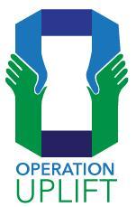 Operation Uplift Foundation in partnership with Sigma Mu Mu logo