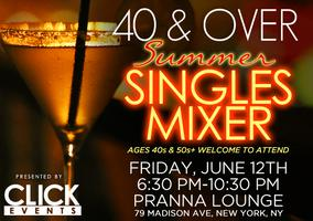 40's & Over Singles Happy Hour