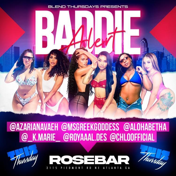 Blend Thursdays @ Rose Bar/Open Bar & Free Entry Till12am/SOGA ENT