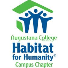 Augustana College Habitat for Humanity logo